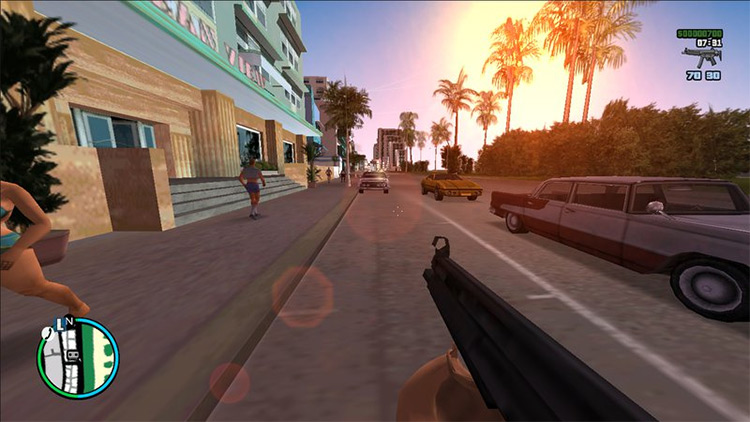 First Person View GTA VC Mod