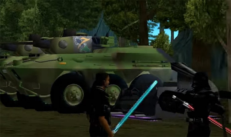 Light Saber GTA Vice City mod