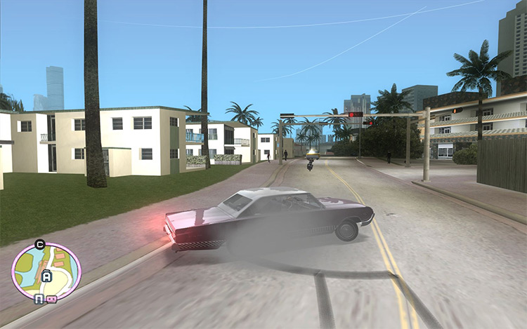 Vice City HD Effects mod screenshot