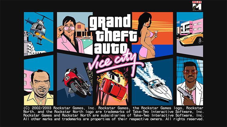 Vice City Hi-Res Loadscreen preview