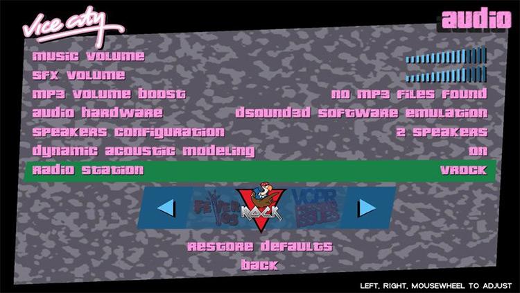HD Radio Icons in GTA VC