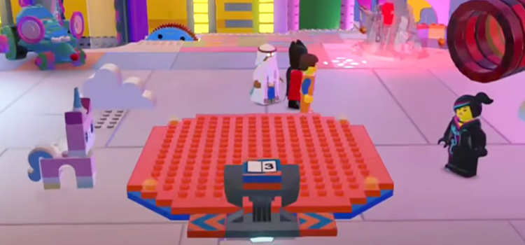 The LEGO Movie Videogame platform screenshot