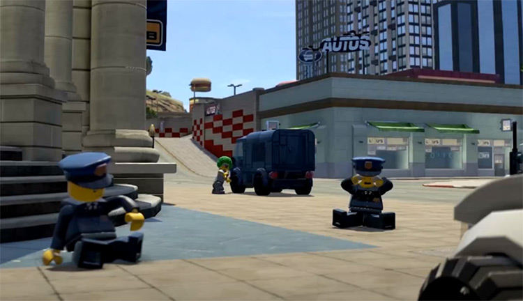LEGO City Undercover Video Game screen