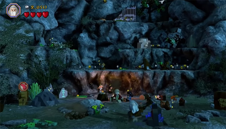 Lego: The Hobbit Game Screenshot