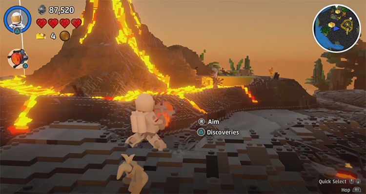 LEGO Worlds game screenshot