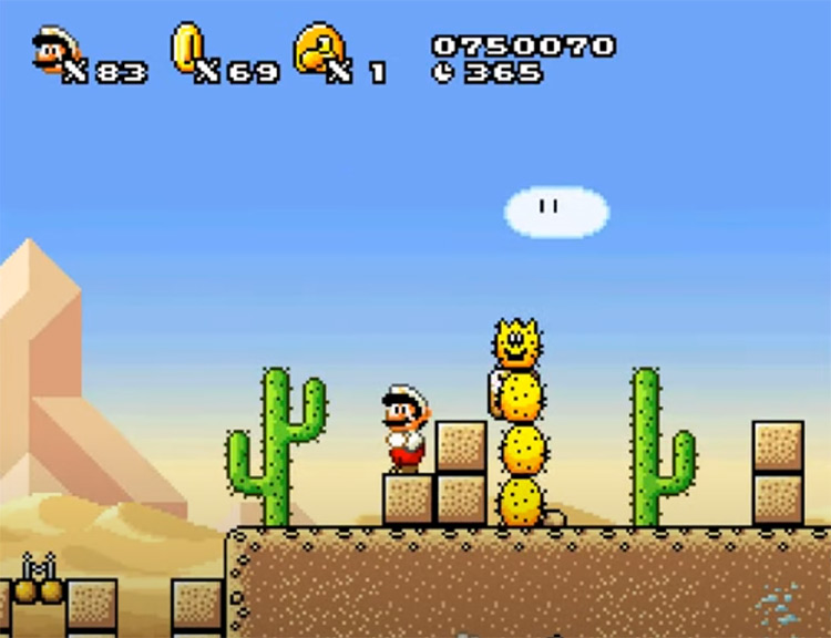 New Super Mario World 2: Around The World Hack