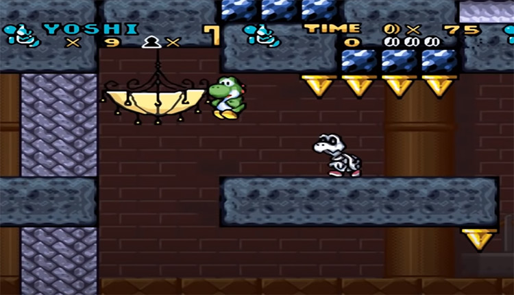 Yoshi's Strange Quest Screenshot