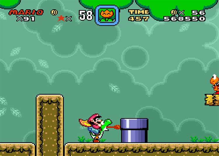 Super Mario World: Return to Dinosaur Land ROM Hack