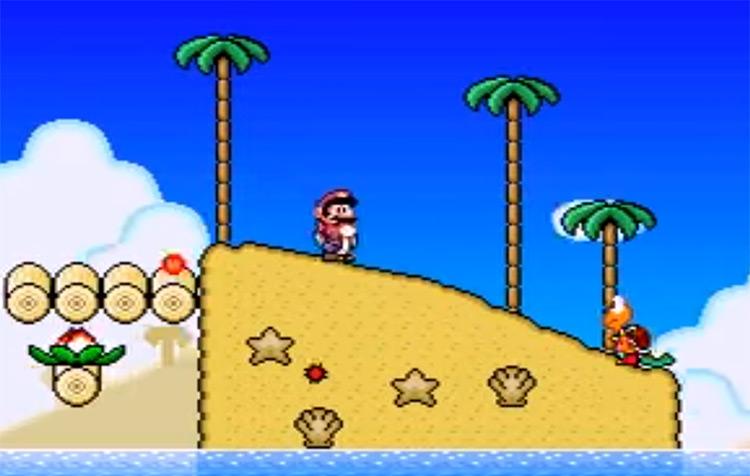 New Super Mario World: The Twelve Magic Orbs ROM Hack