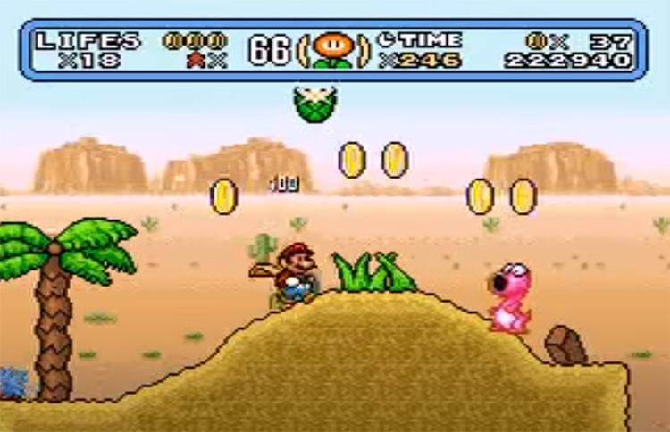 Mega Mario World: Another Universe ROM Hack