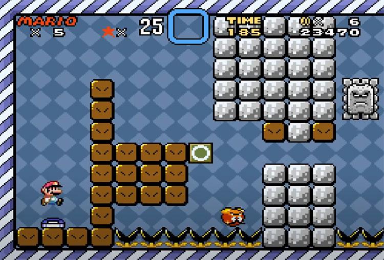 Kaizo Mario World ROM Hack