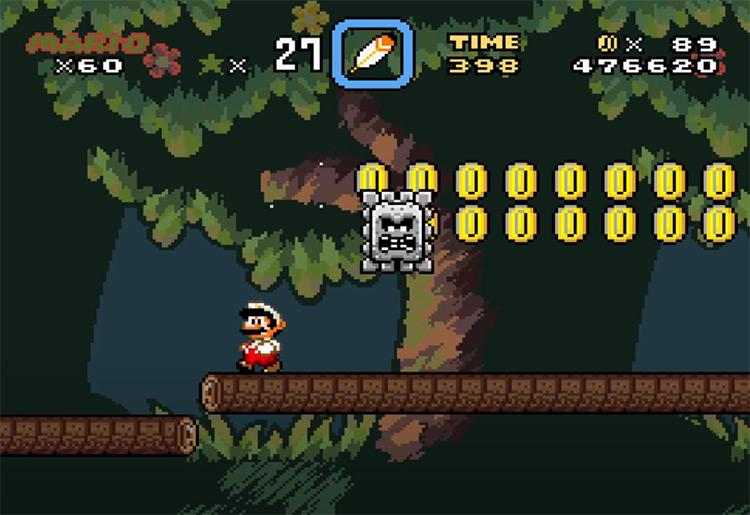 Brutal Mario SMW hack