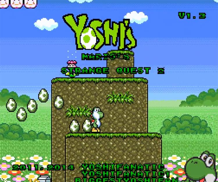 Yoshi's Strange Quest SNES hack