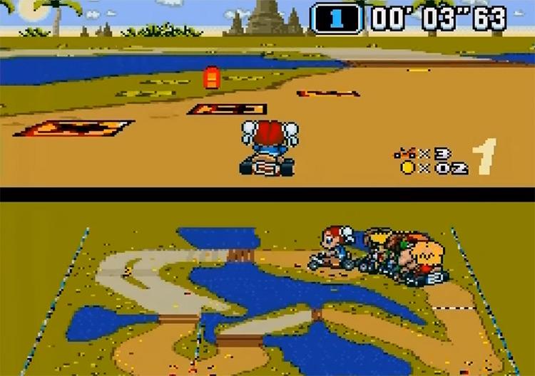 Hyper Street Kart ROMHack screenshot