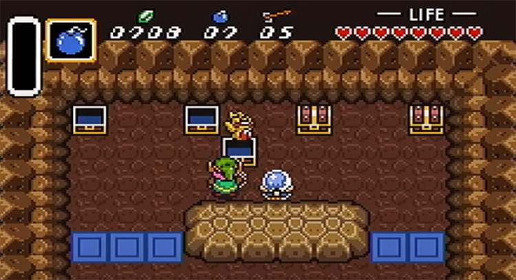 Link to the Past Randomizer gameplay