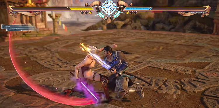 SoulCalibur VI SC6 on PS4