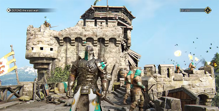 For Honor PS4 gameplay