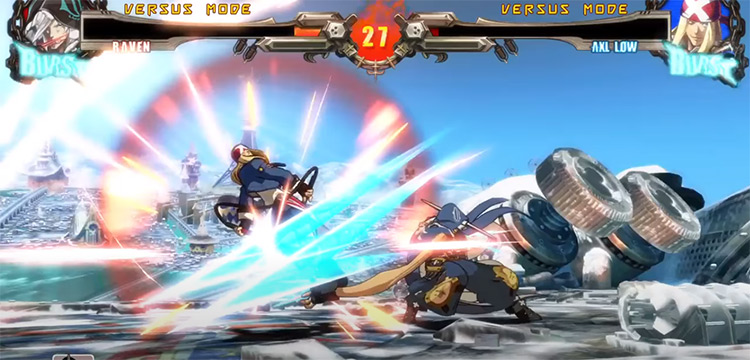 Guilty Gear Xrd: Rev 2 PS4 gameplay