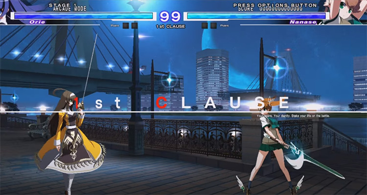 Under Night In-Birth Exe screenshot