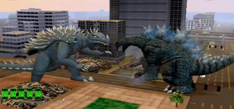 Godzilla battle - Save The Earth game screenshot