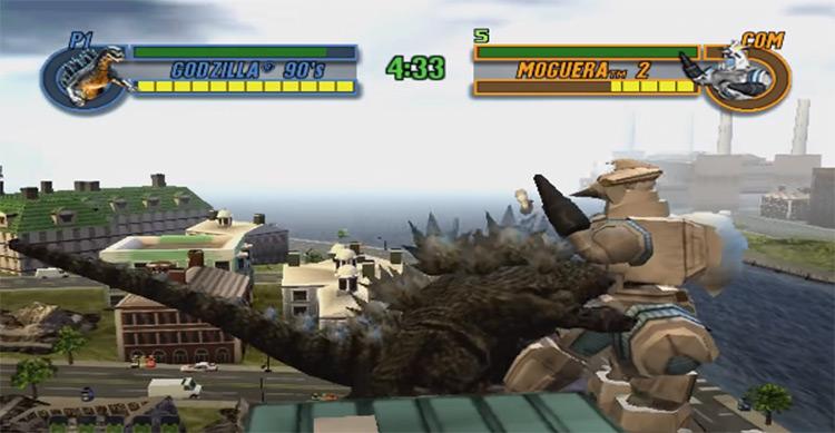 Godzilla: Save the Earth PS2 screenshot