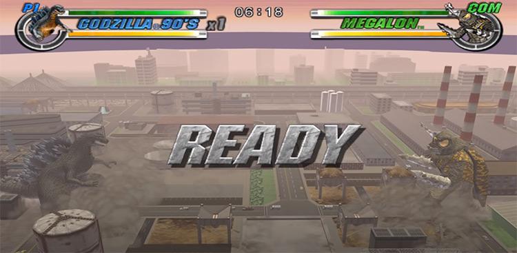 Godzilla: Destroy All Monsters Melee screenshot