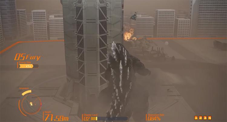 Godzilla 2014 ps4 gameplay