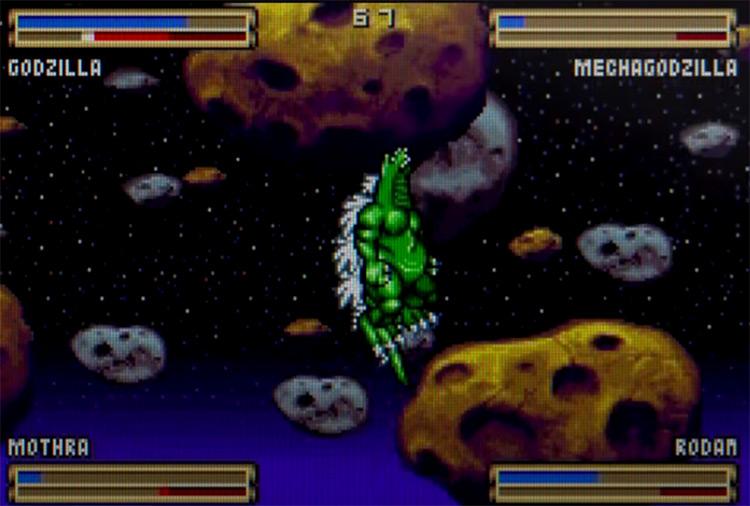 Godzilla: Domination! gameplay