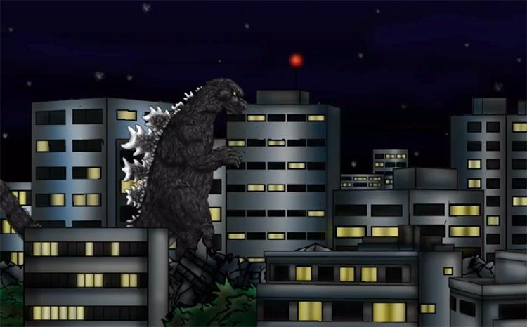 Godzilla Daikaiju Battle Royale screenshot