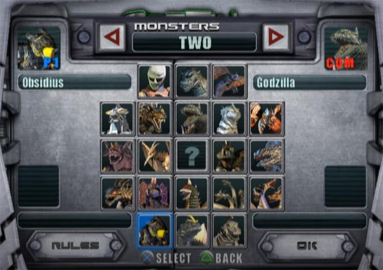 Godzilla: Unleashed 2007 video game screenshot