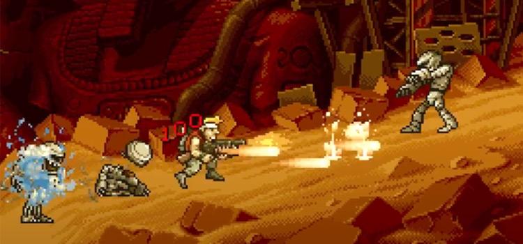 Metal Slug 2 NeoGeo gameplay