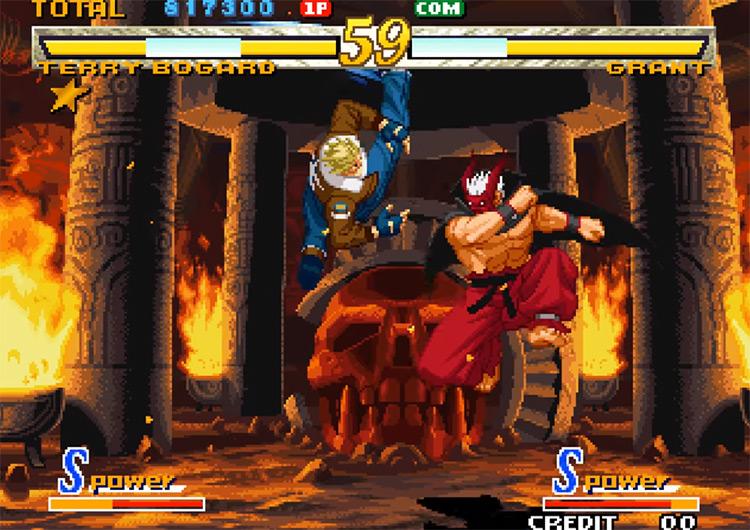 Garou: Mark of the Wolves screenshot