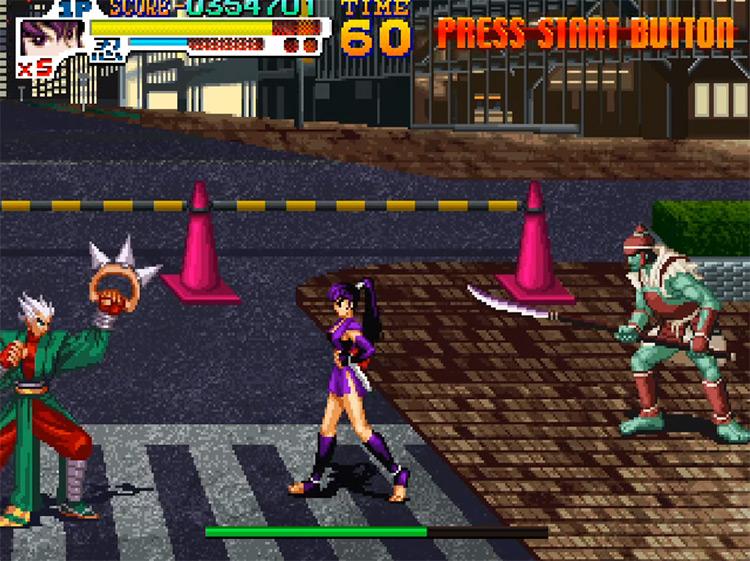 Sengoku 3 game screenshot