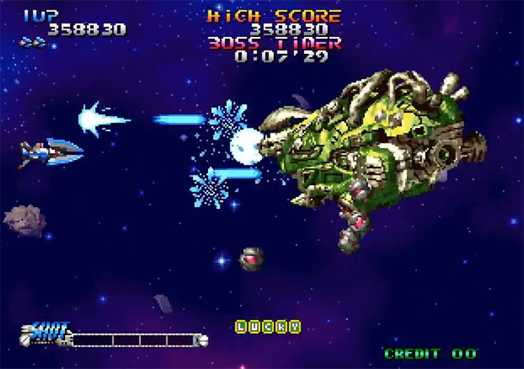 Blazing Star NeoGeo gameplay