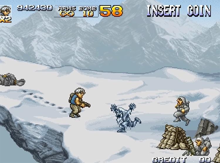 Metal Slug 4 gameplay screenshot