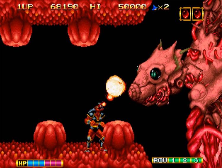 Magician Lord game screenshot