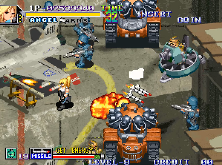 Shock Troopers 2 screenshot