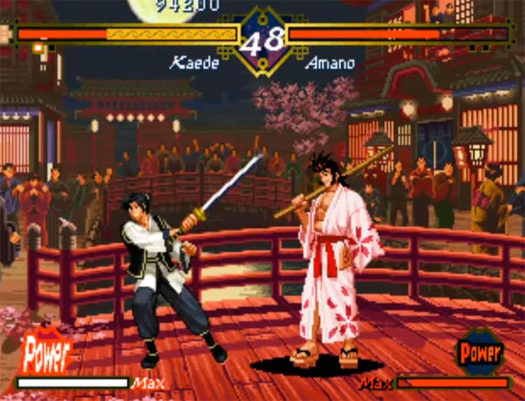 The Last Blade NeoGeo screenshot