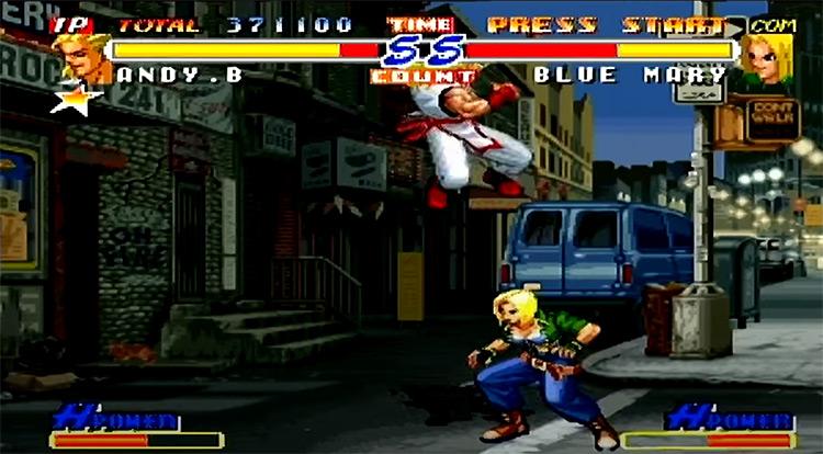 Real Bout Fatal Fury 2 screenshot