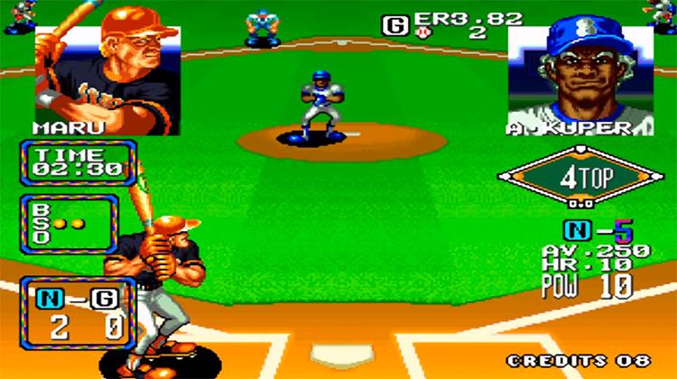 Baseball Stars 2 screenshot gameplay