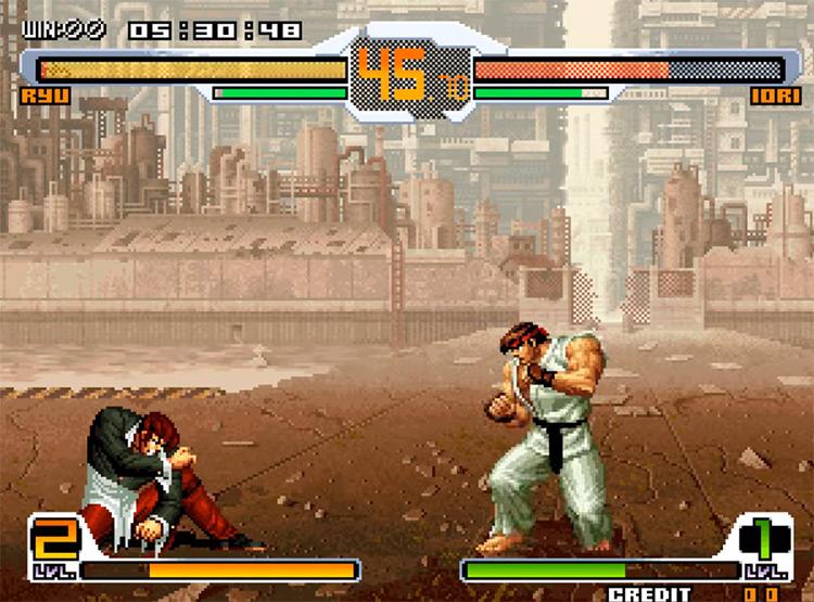 SNK vs. Capcom screenshot gameplay