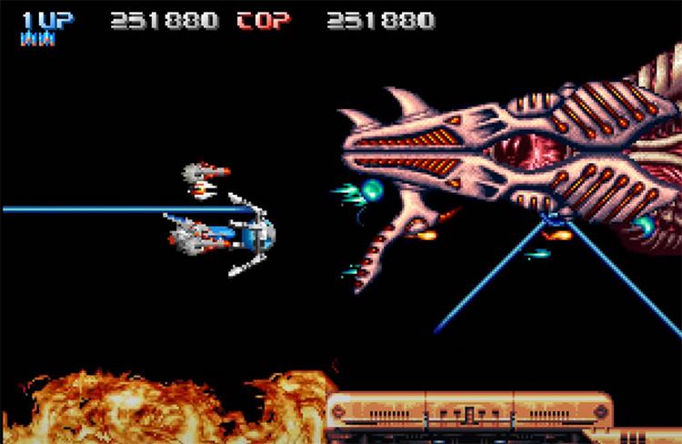 Pulstar NeoGeo gameplay screenshot