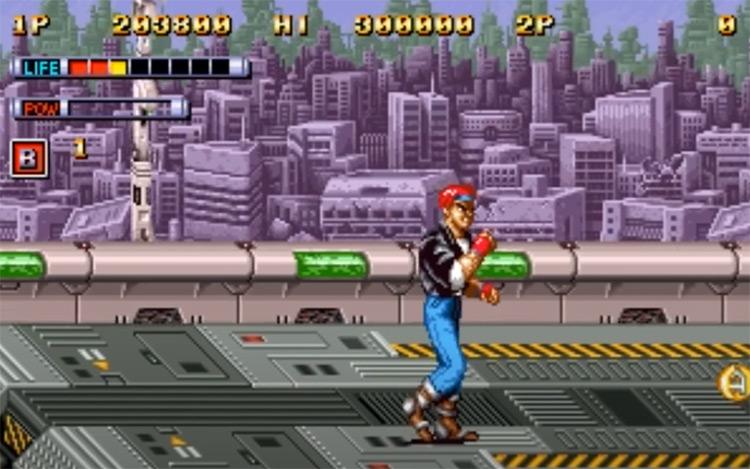 Mutation Nation Neo Geo screenshot
