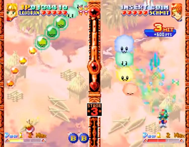 Twinkle Star Sprites Neo Geo gameplay
