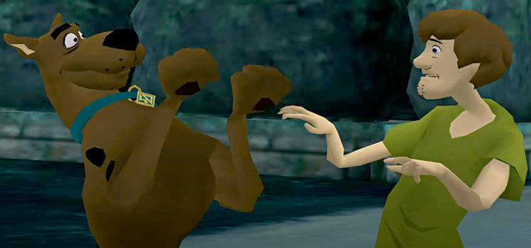 Scooby-Doo Shaggy screenshot from PS2 game