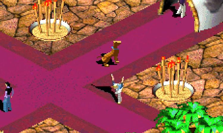 Scooby-Doo GBA Screenshot
