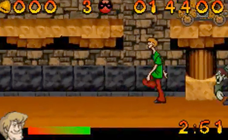 Scooby-Doo and the Cyber Chase screenshot GBA