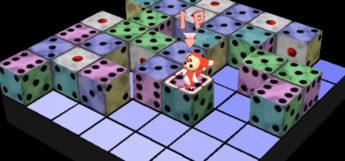 Devil Dice PS1 puzzle gameplay screenshot