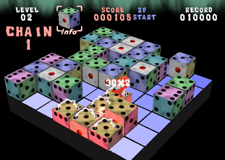 Devil Dice PS1 Screenshot