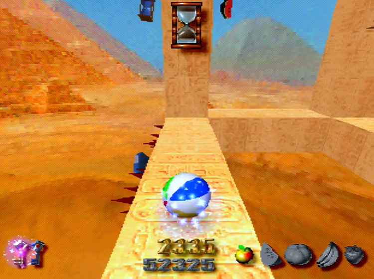 Kula World PS1 screenshot